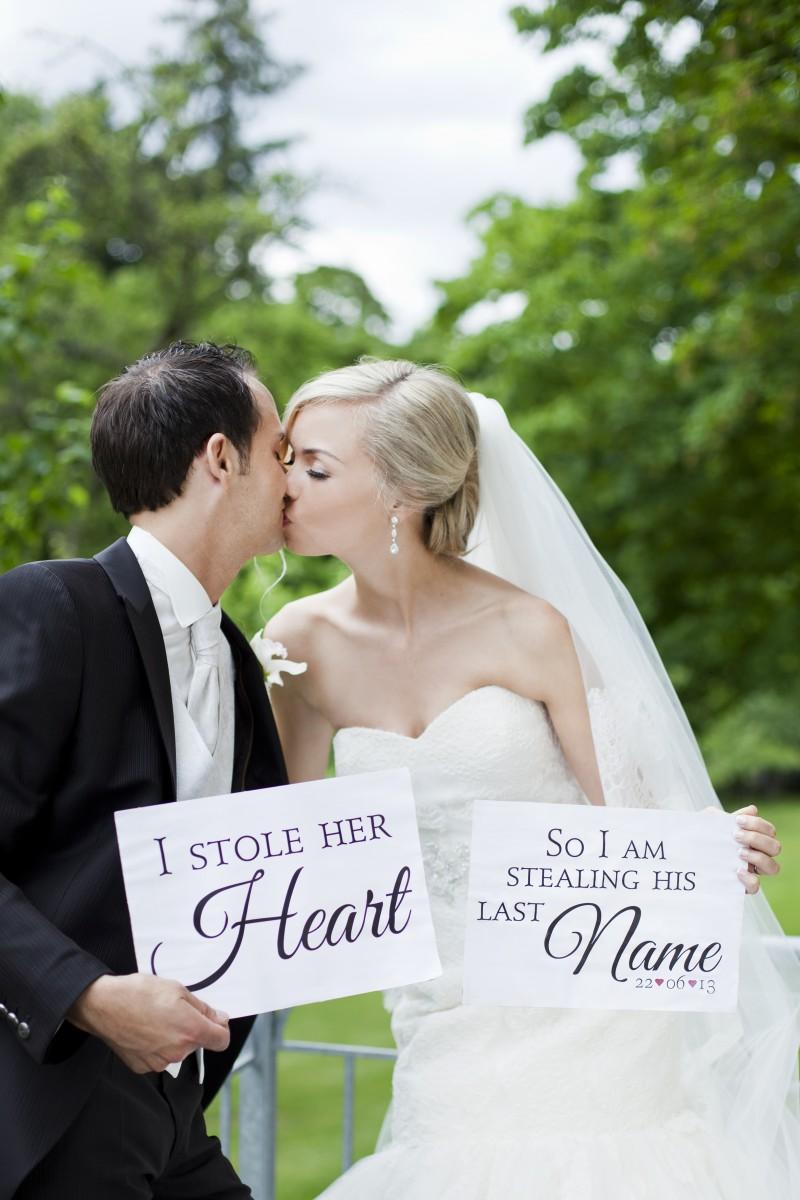 Hochzeitsfoto, Wedding picture, Braut und Bräutigam, Bride and Groom