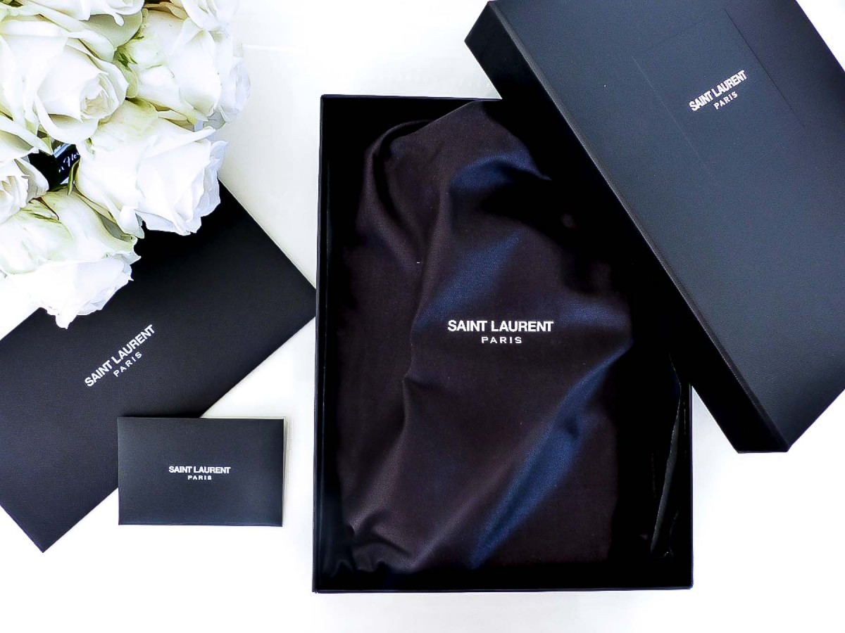 Saint Laurent YSL Matelassé Chain Wallet Bag Unboxing