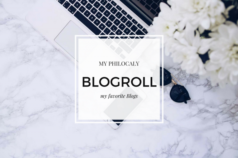 Blogroll, Blogs, Links, My Philocaly