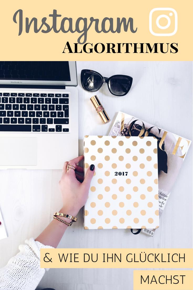 Instagram, Algorithmus, Flatlay, Macbook, Blog