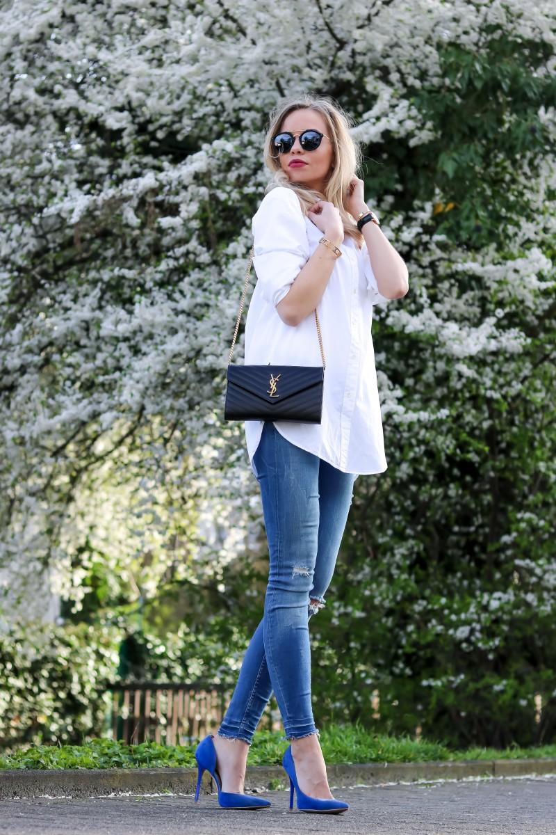 Outfit, Cobalt, Kobalt, Blau, Frühling, Spring