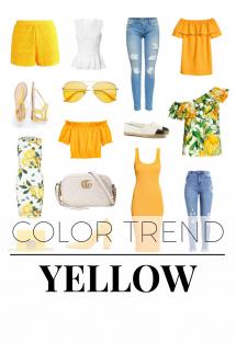 Color Trend Yellow Titelbild