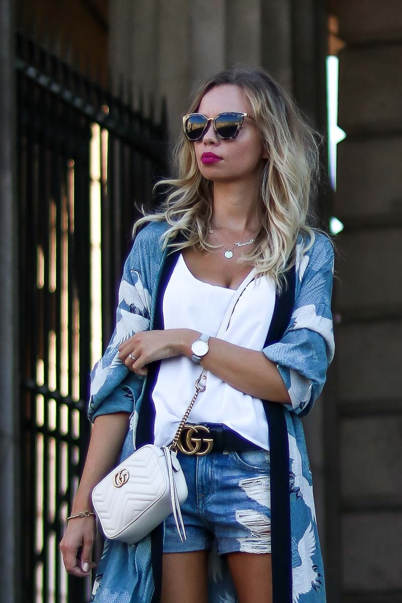 Close Up Casual Kimono Style for Summer