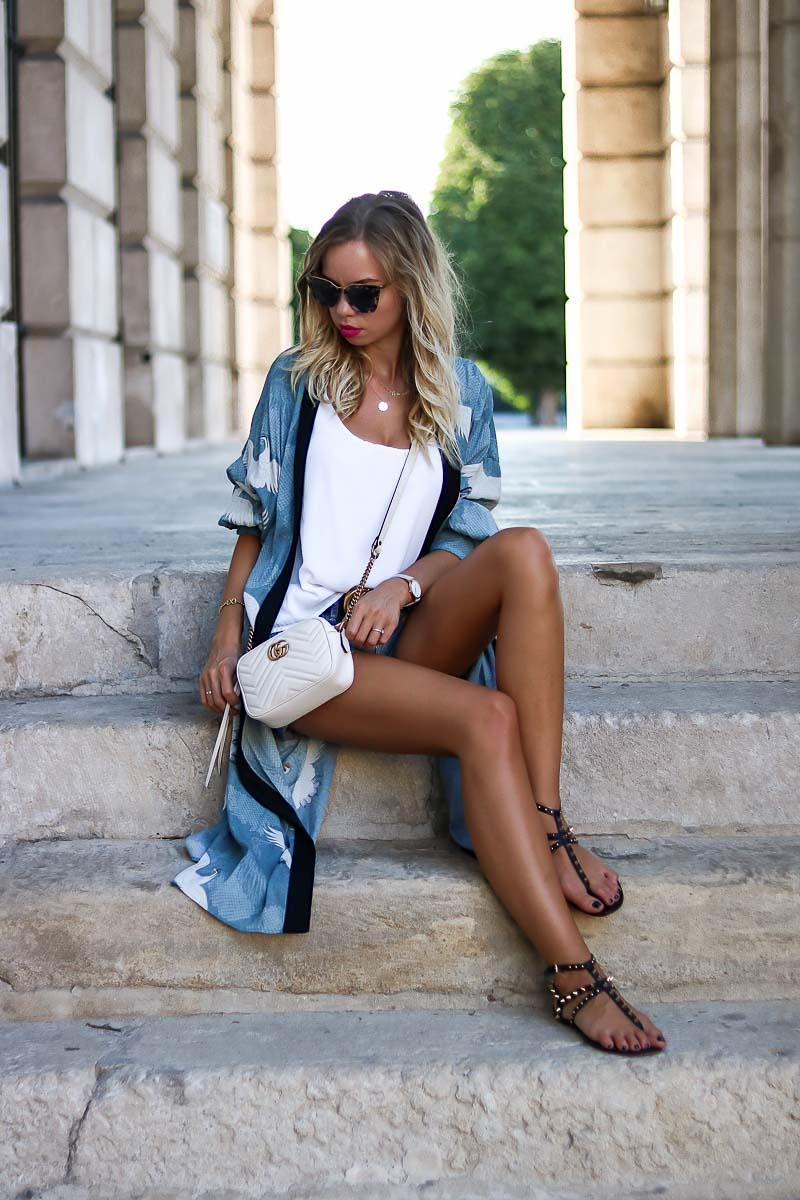 Zara Casual Kimono Style for Summer