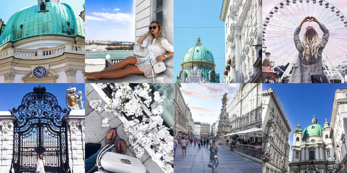 Instagram Collage Vienna Travel Guide