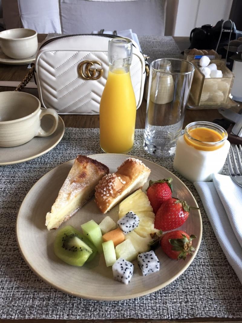 Vida Downtown Dubai Breakfast