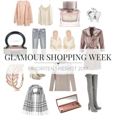 Glamour Shopping Week Favoriten 2017