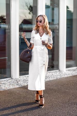 Büro Outfit für heiße Sommertage