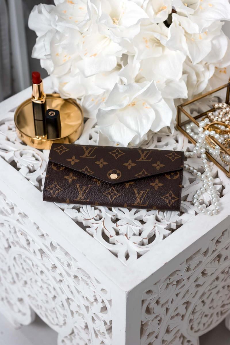 Louis Vuitton Sarah Wallet Geldbörse Designer Wishlist